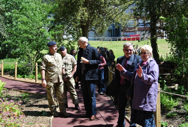 Blind Veterans UK Centenary Woodland wins two more awards