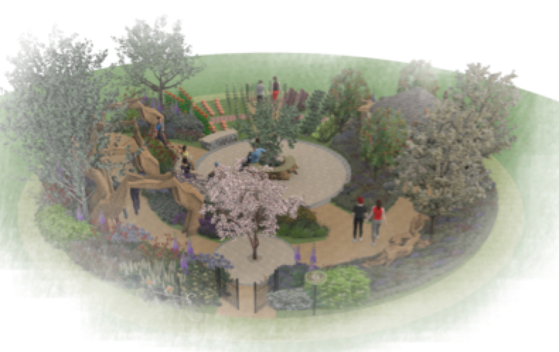 It's all about community – Fisher Tomlin & Bowyer are creating RHS Hampton Court Palace Flower Show's largest garden!