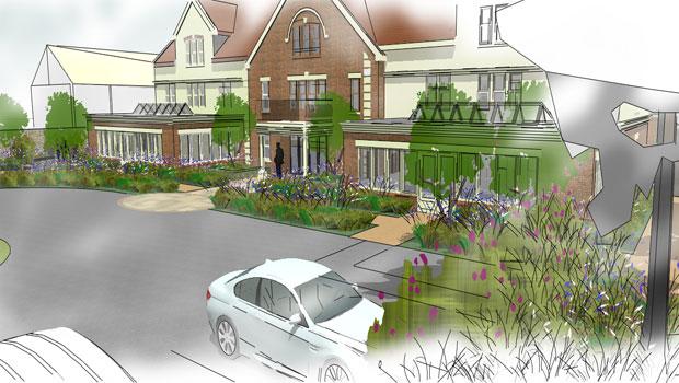 Therapeutic care home gardens