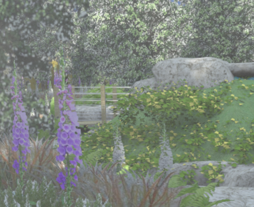 We're designing a new children's hospice garden for Greenfingers