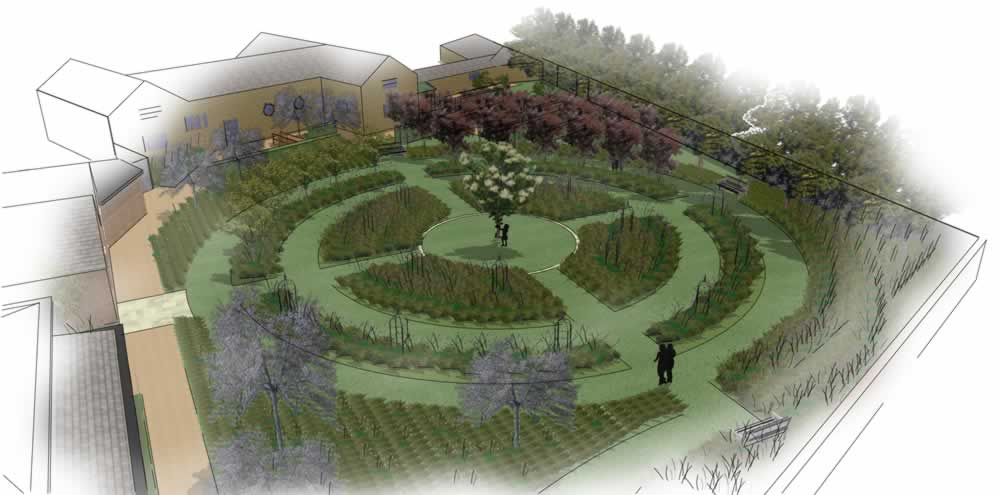 Work begins on Warren House heritage garden